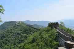 Great Wall of China. Mutianyu.