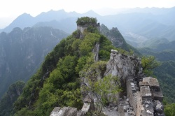 Great Wall of China. Wild Great Wall. Jiankou
