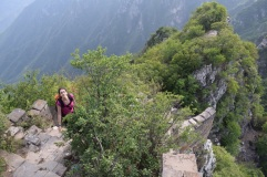 Great Wall of China. Wild Great Wall. Jiankou.