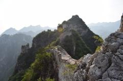 Great Wall of China. Overnight at the Wild Great Wall. Jiankou