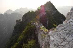 Great Wall of China. Camp overnight at the Wild Great Wall. Jiankou.